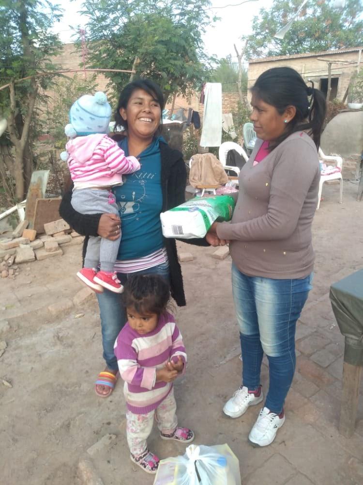 La campaña #EsHoraDeObrar ya entregó más de 80 toneladas de alimentos