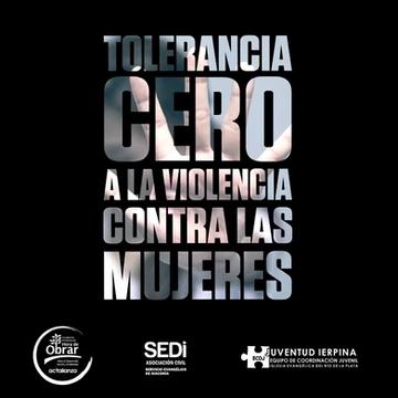 """Organizaciones se unen para decir """"Tolerancia Cero a la violencia contra las mujeres"""""""