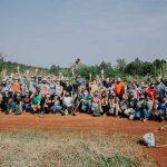 Plantación masiva en Eldorado Misiones